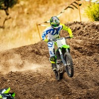 2018 Kawasaki KX 250F Motocross Motorcycle