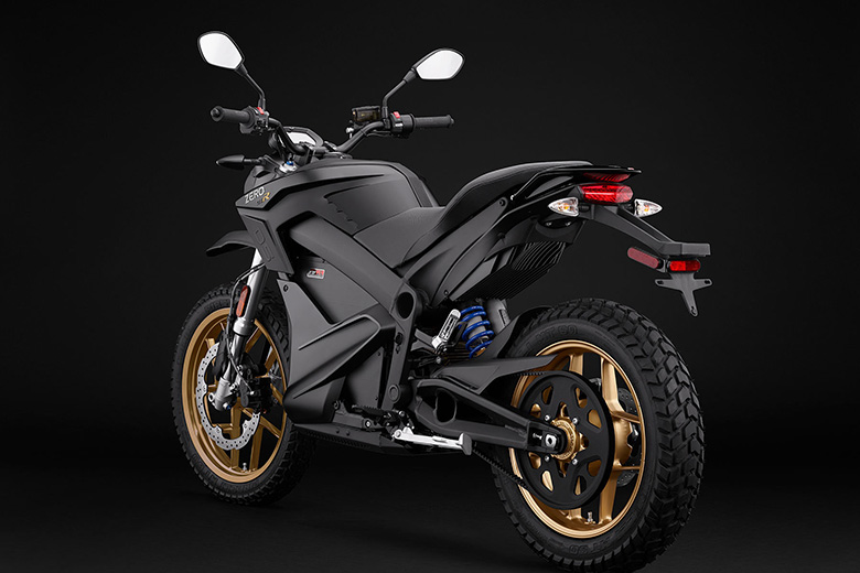 2018 DSR Zero Electric Adventure Motorcycle