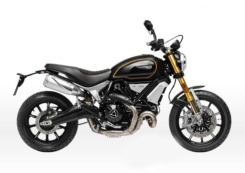 2018 Ducati 1100 Sports Scrambler Side