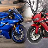2017 Yamaha YZF-R6 vs 2017 Honda CBR600RR