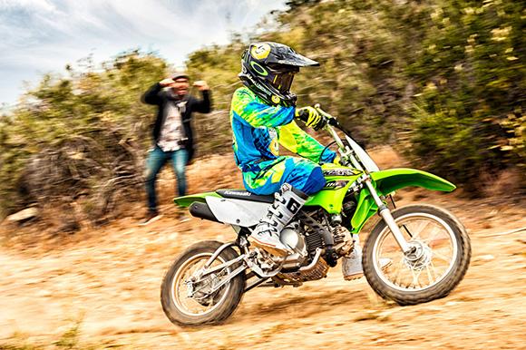 2018 KLX110 Kawasaki Dirt Bike