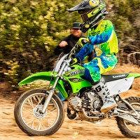 2018 KLX110 Kawasaki Dirt Bike