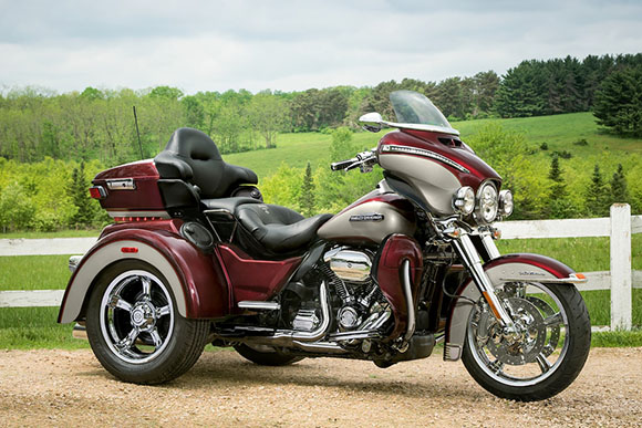 The 2016 Harley Davidson Tri Glide Ultra Provides Three: 2018 Tri Glide Ultra Harley-Davidson