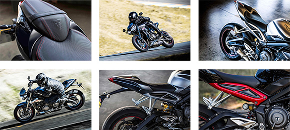 2018 Triumph Street Triple Family Roadsters Specs