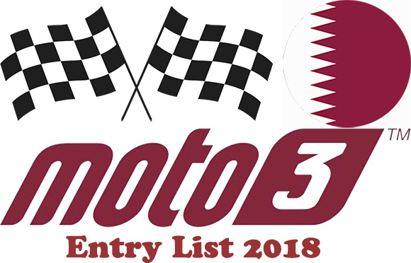 Entry list of Moto3 for Grand Prix of Qatar