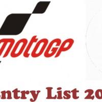 Grand Prix of Qatar MotoGP Entry list 2018