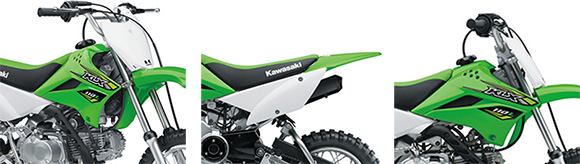 Kawasaki 2018 KLX110L Dirt Bike Price Review Specs