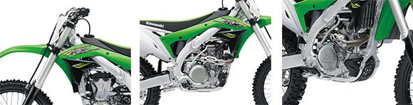 Kawasaki 2018 KX 450F Motocross Specs