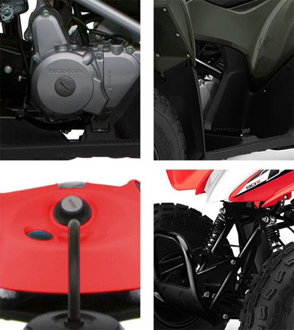 TRX90X 2018 Honda Sports Quad Bike Specs