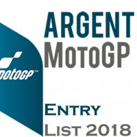 Gran Premio of Argentina MotoGP Entry list 2018