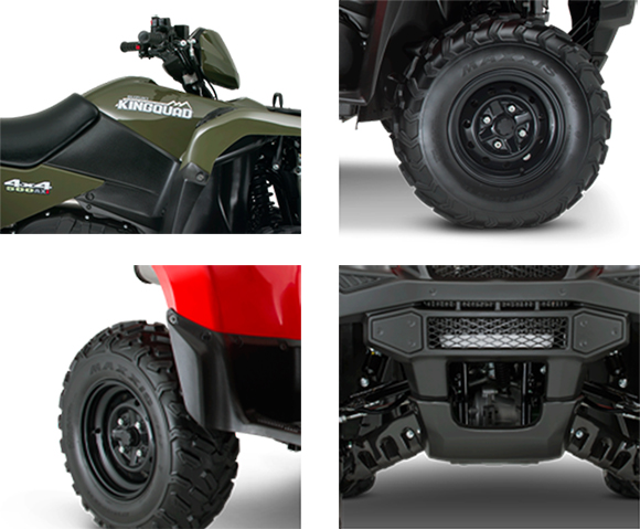 Suzuki Kingquad Oil Capacity