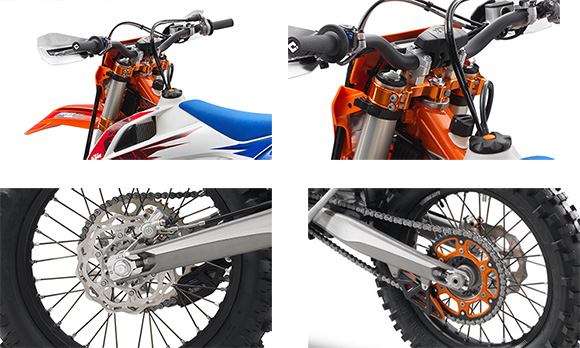 KTM 2018 300 EXC TPI Six Days Specs