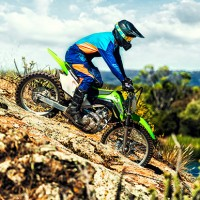 2018 KLX140G Kawasaki Powerful Dirt Bike