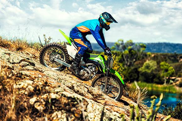 2018 KLX140G Kawasaki Powerful Dirt Bike