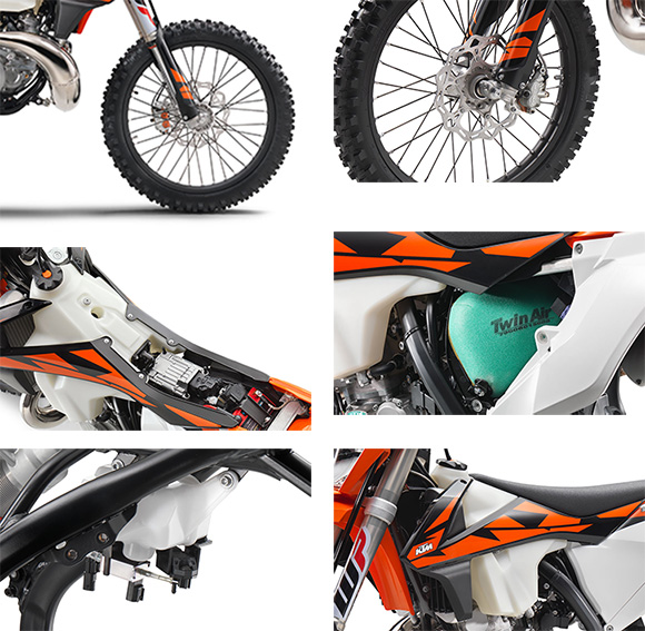 2018 KTM 300 EXC TPI Enduro Dirt Bike Specs