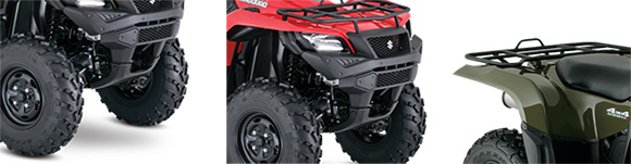 2018 Suzuki KingQuad 500AXi Power Steering Utility ATV Specs