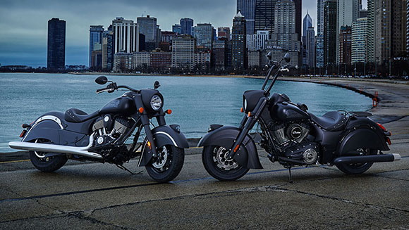 Indian 2018 Chief Dark Horse Cruisers