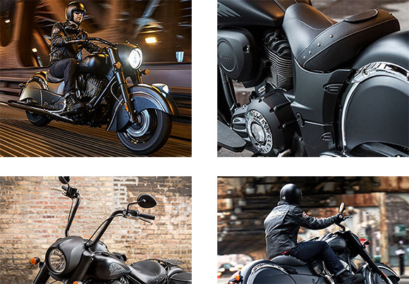 Indian 2018 Chief Dark Horse Cruisers Specs