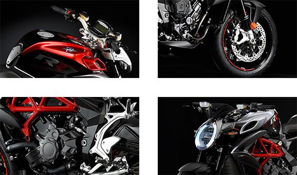 2018 Brutale 800 RR MV Agusta Naked Motorcycle Specs