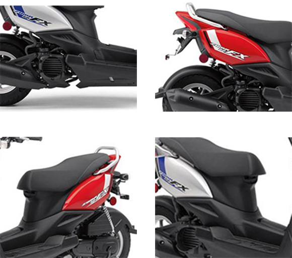 2018 Yamaha Zuma 50FX Scooter Specs