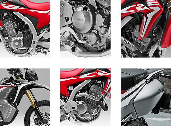 Honda 2018 CRF250L and CRF250L Rally Dual Sports Bike Specs