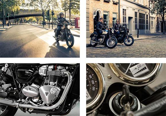 Triumph 2018 Bonneville T100 Modern Classic Family Specs