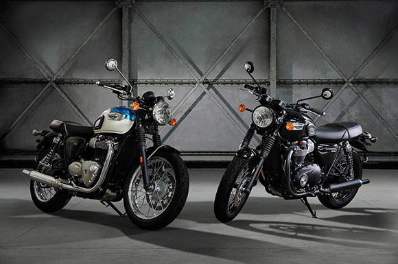 Triumph 2018 Bonneville T100 Modern Classic Family