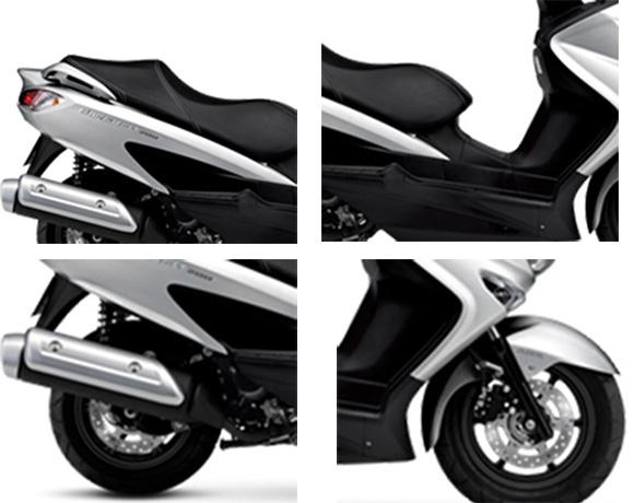 2018 Burgman 200 Suzuki Scooter Specs