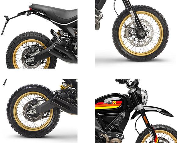 2018 Scrambler Desert Sled Ducati Specs