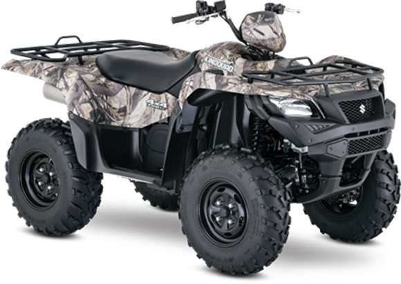 2018 Suzuki KingQuad 750AXi Power Steering Camo ATV