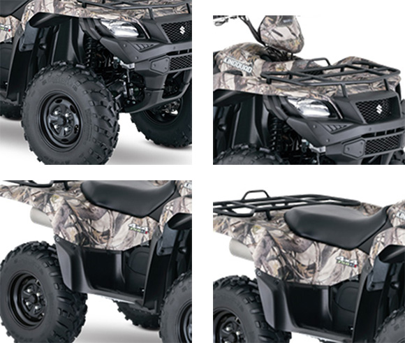 2018 Suzuki KingQuad 750AXi Power Steering Camo ATV Specs