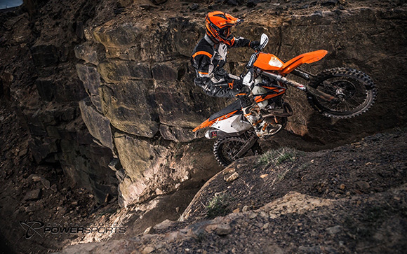 KTM 350 EXC-F 2018 Enduro Dirt Motorcycle