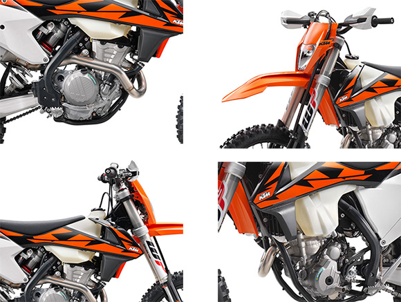 KTM 350 EXC-F 2018 Enduro Dirt Motorcycle Specs