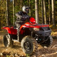 Suzuki 2018 KingQuad 750AXi Power Steering Quad Bike