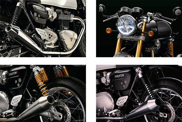 Triumph 2018 Thruxton Modern Classic Family Specs