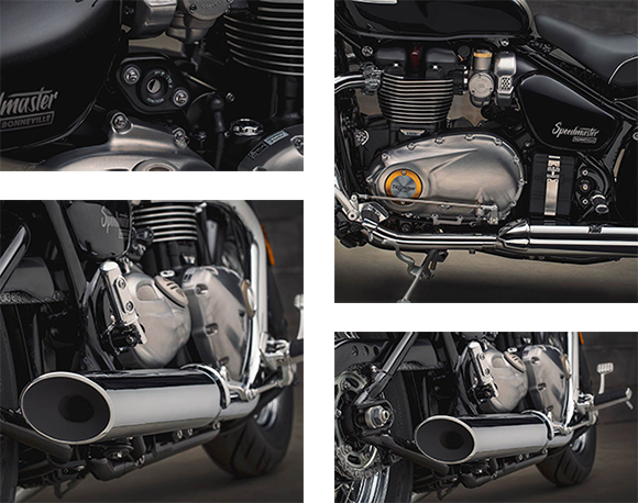 Triumph Bonneville Speedmaster 2018 Modern Classic Bike Specs
