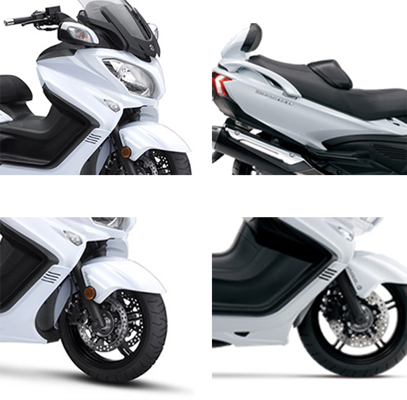 2018 suzuki burgman 650 executive scooter review price specs. Black Bedroom Furniture Sets. Home Design Ideas