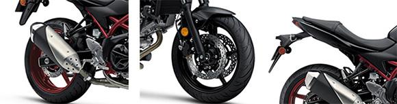 Suzuki 2018 SV650 & SV650 ABS Urban Sports Bike Specs