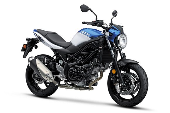 Suzuki 2018 SV650 & SV650 ABS Urban Sports Bike