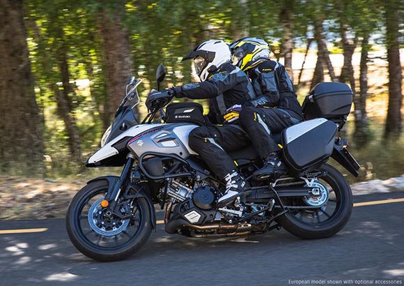 Suzuki 2018 V-Strom 1000 & V-Strom 1000XT Adventure Bike
