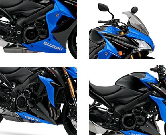 Suzuki 2018 GSX-S1000 ABS & GSX-S1000F ABS Specs