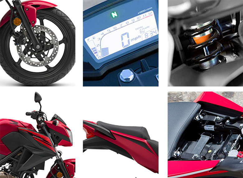 2018 CB300F Honda Sports Bike Specs