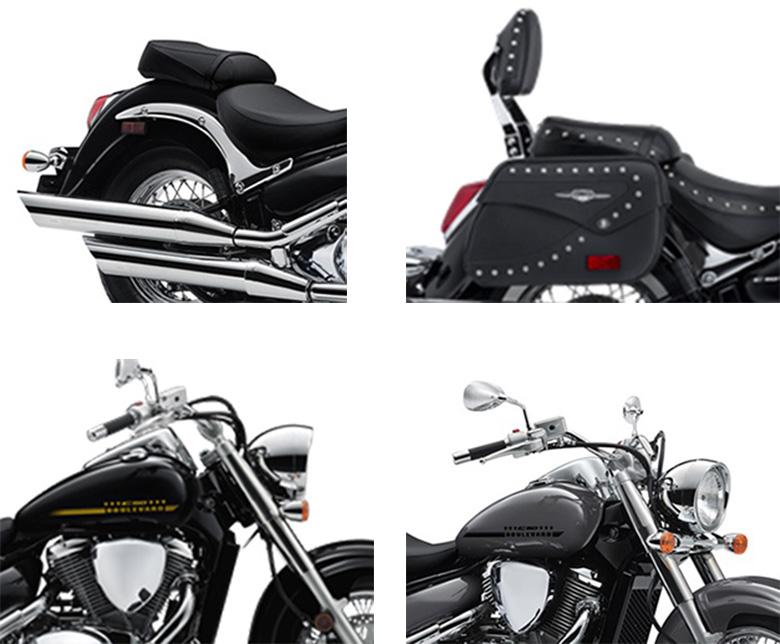 2018 Suzuki Boulevard C50 & C50T Cruisers Motorcycle Specs