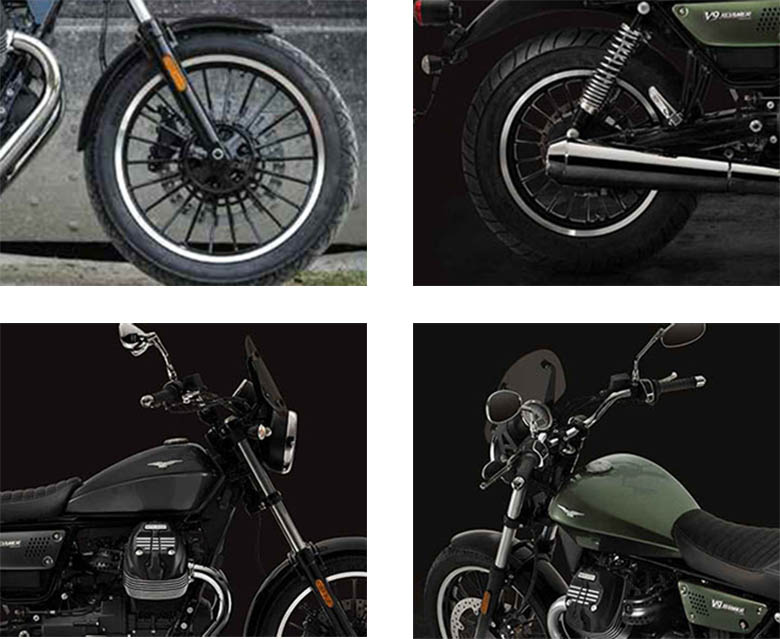 2018 V9 Roamer Moto Guzzi Custom Bike Specs