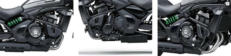 Kawasaki 2018 Vulcan S ABS Café Cruisers Motorcycle Specs
