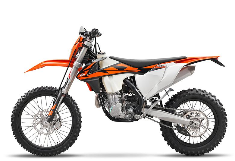 KTM 2018 500 EXC-F Powerful Dirt Bike
