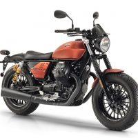 Moto Guzzi 2018 V9 Bobber Sports Custom Motorcycle