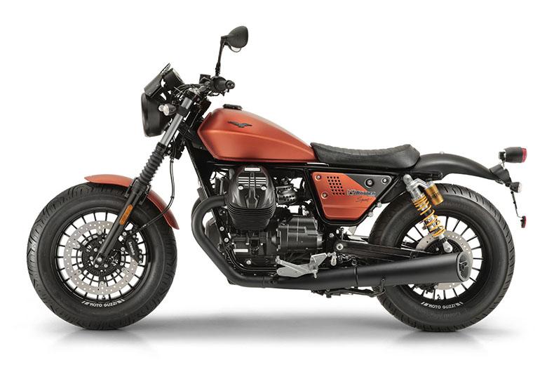 Moto Guzzi 2018 V9 Bobber Sport Custom Motorcycle