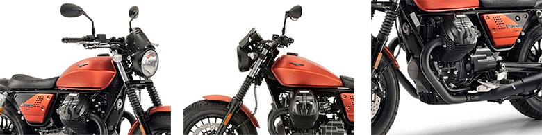 Moto Guzzi 2018 V9 Bobber Sport Custom Motorcycle Specs