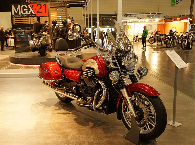 2018 Moto Guzzi California Touring Motorcycle
